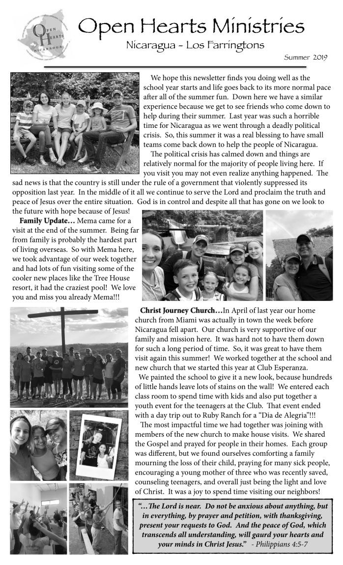 19-08 Newsletter p1
